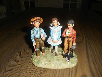 """Lot of 2 Figurines, """"Young Man's Fancy"""", """"For a Mother's Love"""""""