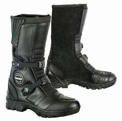 Waterproof Motorbike Motorcycle Off Road Boots Shoes Touring Adventure Armoured