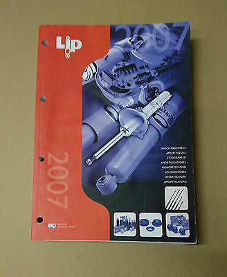 Lip / Qh Shock Absorbers Parts Catalogue 2007