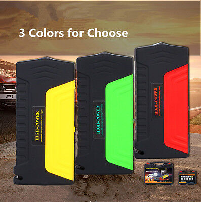 68800mA Car Jump Starter Toolkit Emergency Charger Booster Power Bank SOS