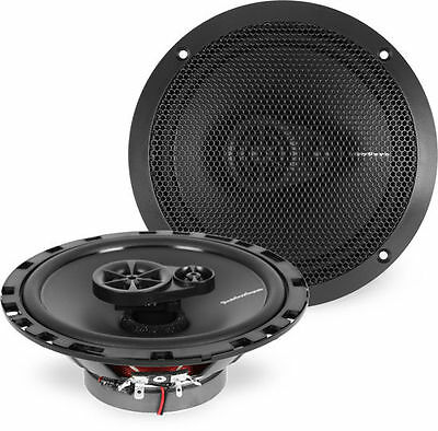 "New Rockford Fosgate R165X3 90Watt Rms 6.5"" 3-Way Prime Coaxial Speakers (Pair)"