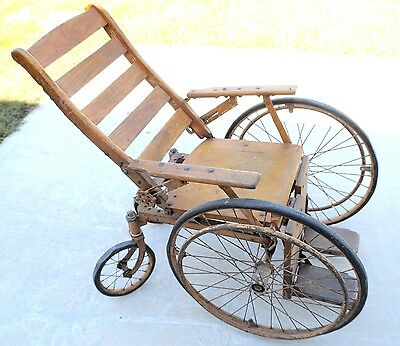 Vintage Wheelchair Prairie Farmer Station WLS 1937 Christmas Giveaway
