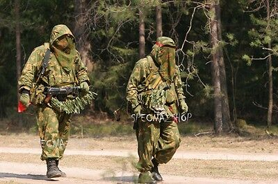 Genuine Army Issue RUSSIAN USSR KZS Berezka Netted Camouflage Suit (Size 1 & 2)