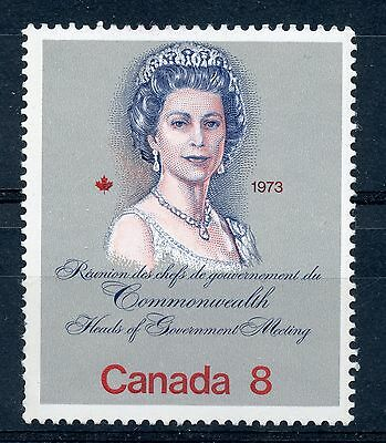 Weeda Canada 620i VF mint NH 8c QEII Royal Visit on scarce HB paper CV $7.50
