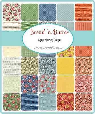 Patchwork/quilting Fabric Moda Charm Squares/packs - Bread N Butter