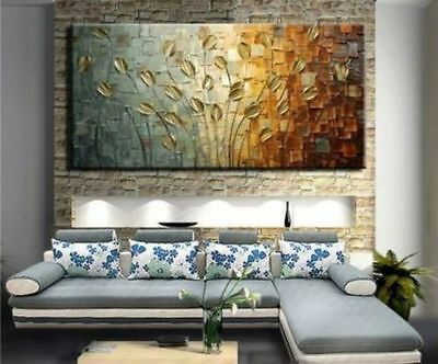 """Abstract paintings of modern large-scale murals on canvas ."""" no frame"""""""