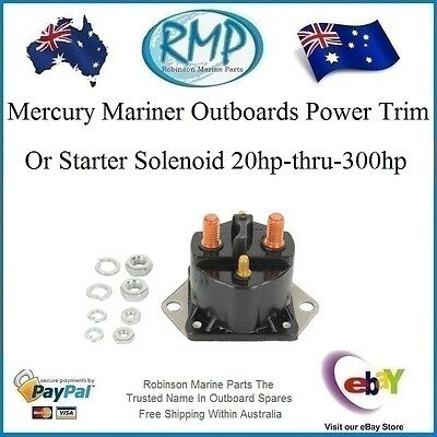 A Brand New RMP Power Starter Motor Solenoid Mercury Mariner # R 89-853654A1