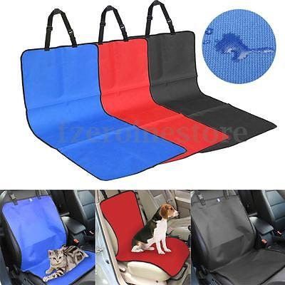 2 in 1 Waterproof Pet Cat Dog Back Car Seat Cover Bench Protector Mat Blanket