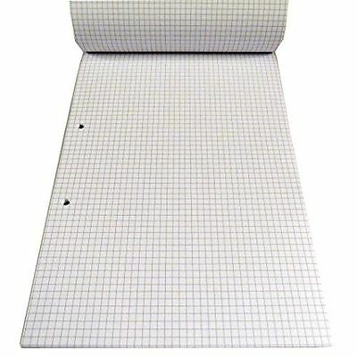 A4 Maths Refill Pad 50 Sheets 5/5Grid 5mm squared squares Paper Note Pad Drawing