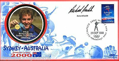 "2000 Sydney Olympics - Benham ""Special"" - Signed by RICHARD FAULDS"