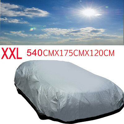 Universal Size XXL Full Car Cover UV Protection Waterproof Breathable Outdoor