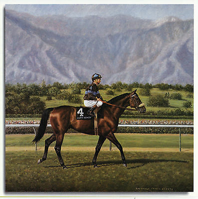 John Henry photo from oil painting ( 2 items )   Horse Racing