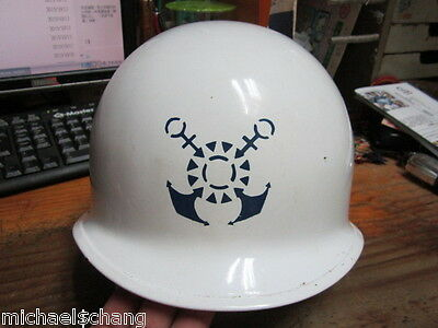 Taiwan/Republic of China Navy Headquarter Guard Helmet / Automobile Paint