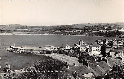 Wales Postcard New Quay From Pencraig  I3 047
