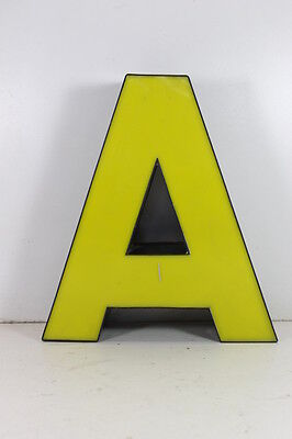 Lettera Insegna Pubblicità Advertising Industrial style Letter Typography H 30