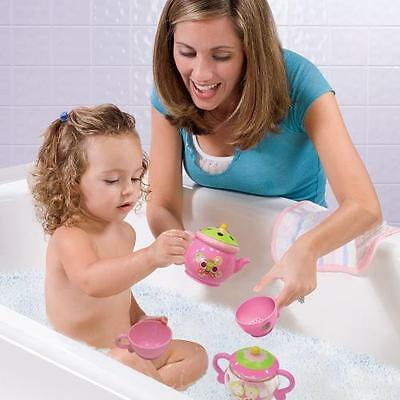 Summer Infant Tea Set Toy Fun Toddler Bath Party Time Child Water Tub