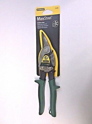 Stanley Brand Super Heavy Duty Right Cut Aviation Snips #14-564