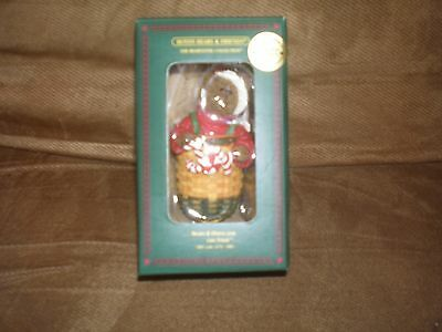 Longaberger Boyd's Bear Exclusive Peppermint Elf Ornament - NIB