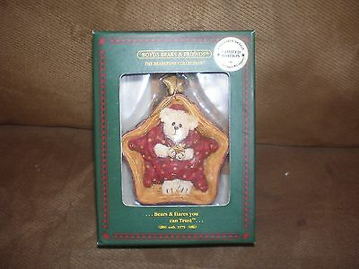 Longaberger Boyd's Bear Exclusive Twinkles Starbeary Ornament - NIB