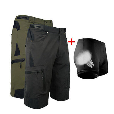DS MTB Men Cycling Mountain Bike/Bicycle Shorts Half Pants (3D Padded Underwer)