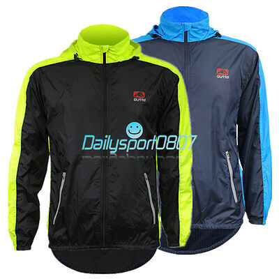 DS Bicycle Cycling Waterproof Jacket Rain Coat Windproof Jersey Hiking Camping