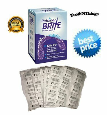 Retainer Brite Cleaning Tablets 96 Tablets No Retail Box 1219