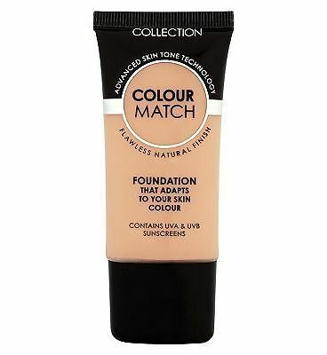Collection Colour Match Foundation 30ml - Honey