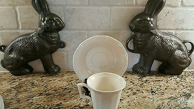 Iroquois Museum White Cup and Saucer Set