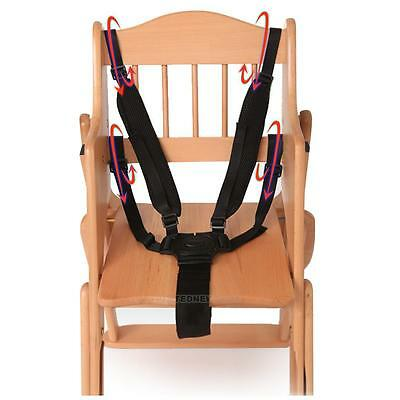 Baby 5-Point Safety Harness Strap Safe Belt Seat Belts for Stroller High Chair