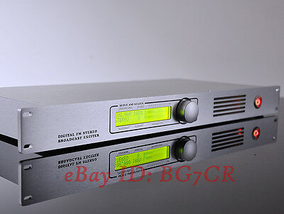 DDone-1 87.5-108MHz Digital FM stereo broadcast exciter  DSP & DDS for Business