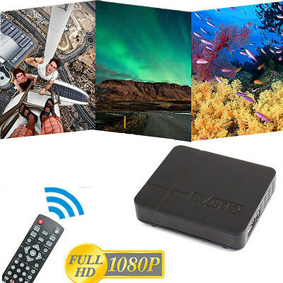 Best HD 1080P Digital DVB-T2 TV Set-top Box Terrestrial Receiver USB TV HDTV BD