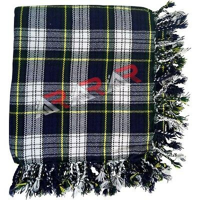 "Brand New AAR Scottish Tartan Dress Gordon Kilt Piper Fly Plaid 48"" x 48"""