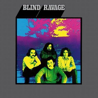 BLIND RAVAGE - Blind Ravage - LP 1971 Out Sider Out Sider