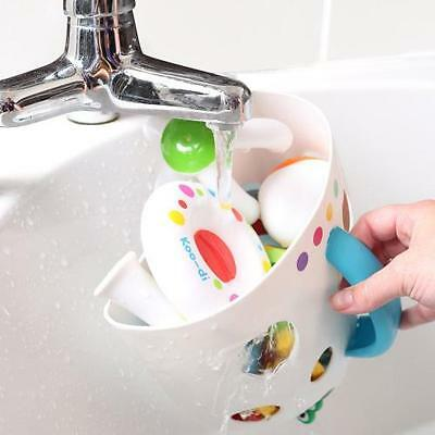 Koodi Bath Toy Storage Scoop Store Caddy Suction Cups Easy Rinse