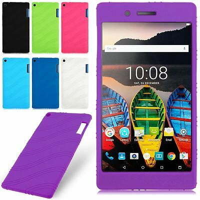 Soft Silicone Rubber Gel Skin Case Cover For Lenovo Tab 3 7 TB3-730F/730M/730X