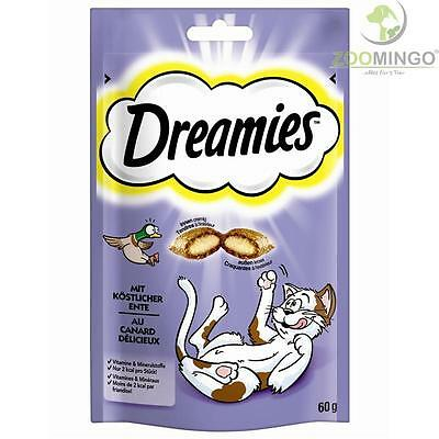 Dreamies Cat mit Ente 60g  x 6 Stk