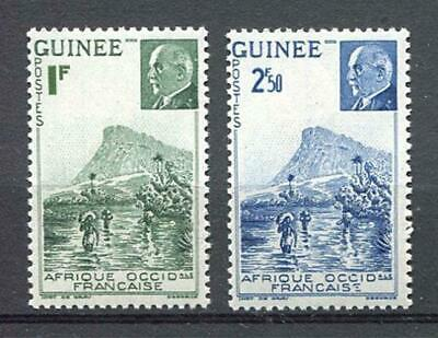 27170) FRENCH GUINEA 1941 MNH** Nuovi** Ford at Kitim & M.