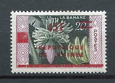 27172) GUINEA 1959 MNH** Nuovi** French West Africa Ovptd flowers