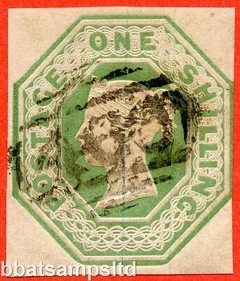 SG. 55. H1 (2). 1/- green. Die 2. A good used example.