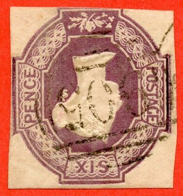 "SG. 59 wi. H3 (2) e. 6d dull lilac. "" INVERTED WATERMARK "". A fine used example."