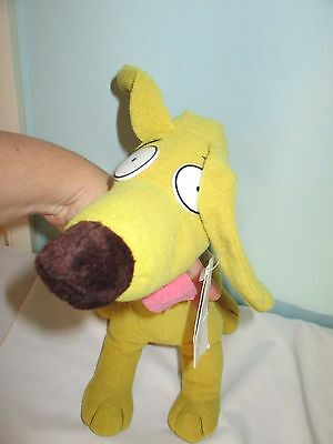 Nickelodeon Spike the Dog From The Rugrats Soft Plush toy. Vintage 1993