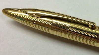 Sheaffer Fountain Pencil Solid 14kt Gold Cap Masterpiece Mint
