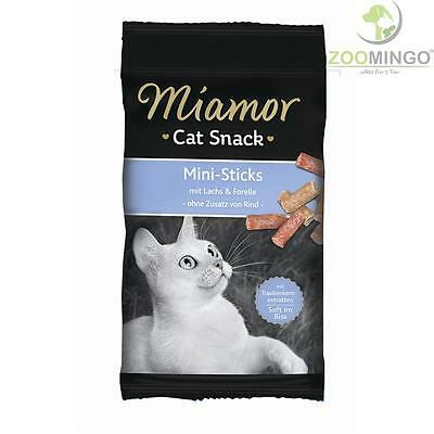 Miamor Cat Confect Mini-Sticks mit Lachs & Forelle 16 x 50g