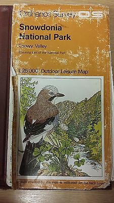 Snowdonia National Park: Conwy Valley: Ordnance Survey Map