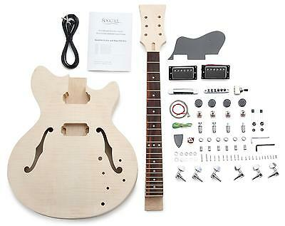 Electric Guitar Diy Assembly Kit Do It Yourself Home Made Built Hb Design Set