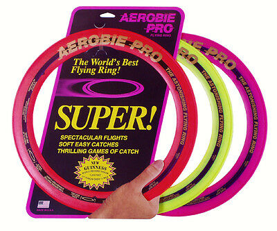 Aerobie Pro Wurfring / Flying Ring 33 cm / gelb, orange oder magenta