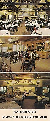 San Jacinto Inn Postcard Houston, Texas - Free Shipping