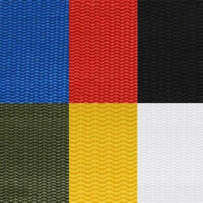 "1"" Nylon Webbing - 6 Colors Yards of Strapping for Bags Knapsacks Camping Straps"