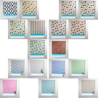 Sunlover Patterned Thermal Blackout Roller Blind