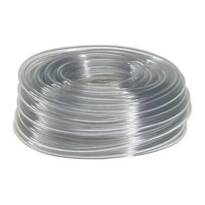 "10 Feet of 7/16"" I.D. Clear Vinyl Tubing, High Quality Food Safe Tubing"
